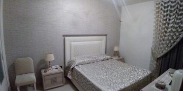 camera con tappezzeria realizzata da Tappezzeria Giuseppe Petracca